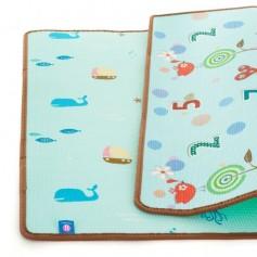 PETITE&MARS Podložka na hraní Joy 180 x 200 x 1 cm Nature