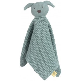 Knitted Baby Comforter Little Chums dog