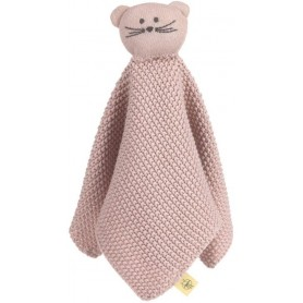 Knitted Baby Comforter Little Chums mouse