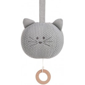 Knitted Musical Little Chums cat