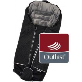 fusak Luxe Outlast 2021 černá/stříbrný prošev/šedá