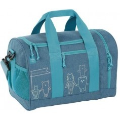Mini Sportsbag About Friends mélange blue