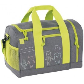 Mini Sportsbag About Friends mélange grey