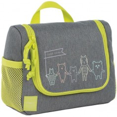 Mini Washbag About Friends mélange grey