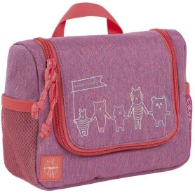 Mini Washbag About Friends mélange pink
