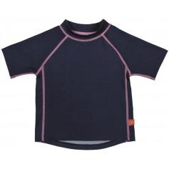 Rashguard Short Sleeve Girls 2016 navy XL