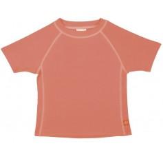 Rashguard Short Sleeve Girls peach 18 mo.
