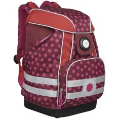 School Bag 2017 Dottie red