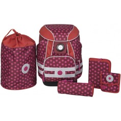 School Set 2017 Dottie red