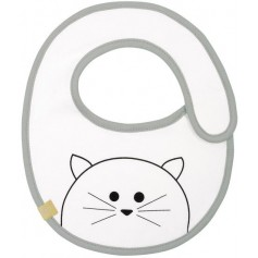 Small Bib Waterproof Little Chums cat