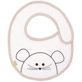 Small Bib Waterproof Little Chums mouse