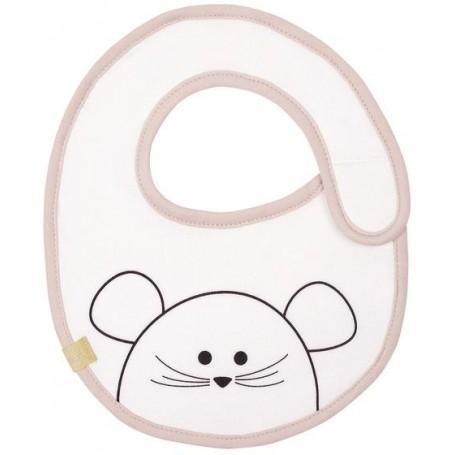 Small Bib Waterproof Little Chums mouse