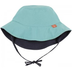 Sun Protection Bucket Hat aqua 18-36 mo.