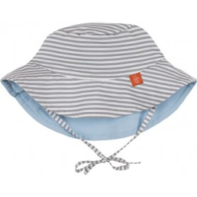 Sun Protection Bucket Hat small stripes 18-36 mo.