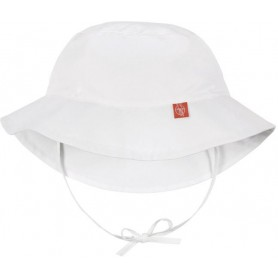 Sun Protection Bucket Hat white 18-36 mo.
