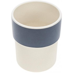Mug Bamboo Glama Lama blue