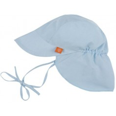 Sun Protection Flap Hat light blue 18-36 mo.