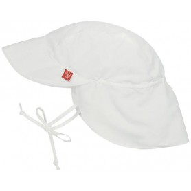 Sun Protection Flap Hat white 18-36 mo.