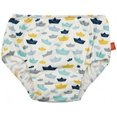 Swim Diaper Boys paper boat 12 mo.