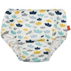 Swim Diaper Boys paper boat 12 mo.