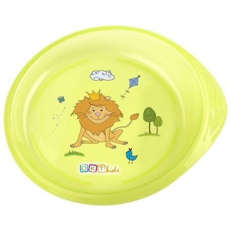 OKT Dětský talířek - zelená