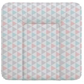 Ceba Baby Přebalovací podložka 75 x 72 cm - Trojúhelníky