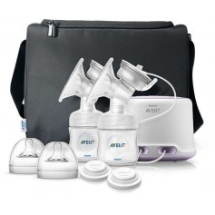 AVENT Odsávačka mateřského mléka Natural elektronická DUO nová