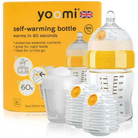 8oz Bottle /2 x Warmer/Teat/Pod - Y18B2W1P