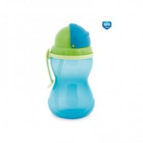 Canpol babies Sportovní láhev se slámkou, 370ml
