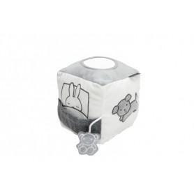 Tiamo plyšová kostka zajíček Miffy Knitted Grey