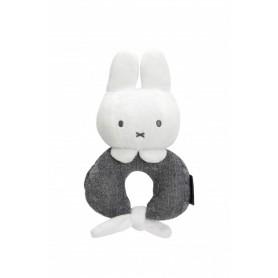 Tiamo chrastící zajíček zavazovací Miffy Knitted Grey