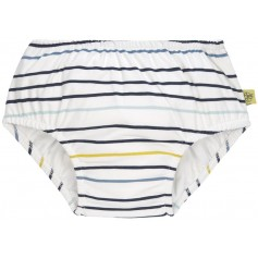 Swim Diaper Boys little sailor navy 12 mo.