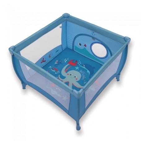 Baby Design Ohrádka Play 03 modrá