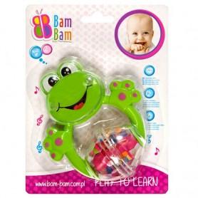 BamBam chrastítko - žabka