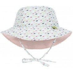 Sun Bucket Hat fish scales 18-36 mo.