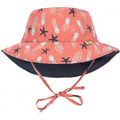 Sun Bucket Hat jelly fish 18-36 mo.