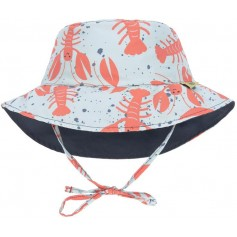 Sun Bucket Hat lobster 18-36 mo.