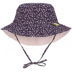 Sun Bucket Hat multidots 18-36 mo.