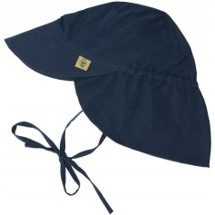 Sun Flap Hat navy 06-18 mo.