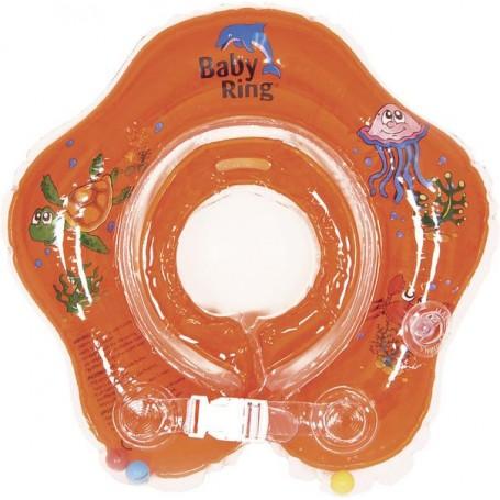 Baby Ring 0-24 měs. oranžová