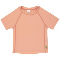 Short Sleeve Rashguard light peach 12 mo.