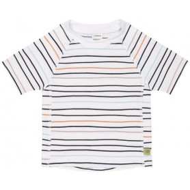 Short Sleeve Rashguard little sailor peach 12 mo.