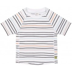 Short Sleeve Rashguard little sailor peach 18 mo.