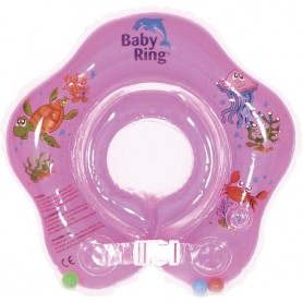 Baby Ring 3-36 měs. růžová