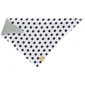Bandana Muslin Little Chums Stars white
