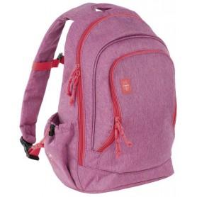 Big Backpack About Friends mélange pink