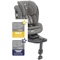 Stages ISOFIX foggy grey