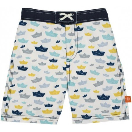 Board Shorts Boys paper boat 12 mo.