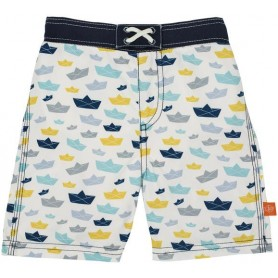 Board Shorts Boys paper boat 24 mo.