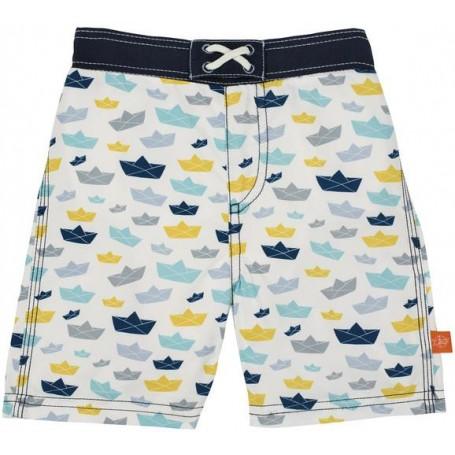 Board Shorts Boys paper boat 24 mo.